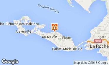 Karte Saint Martin de Ré Haus 80732