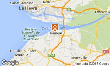 Karte Honfleur Appartement 7650