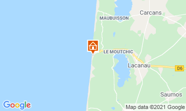 Karte Lacanau Appartement 35391
