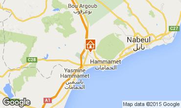 Karte Hammamet Villa 92356