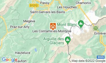 Karte Les Contamines Montjoie Chalet 32551