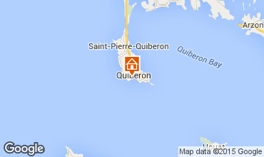 Karte Quiberon Appartement 16462
