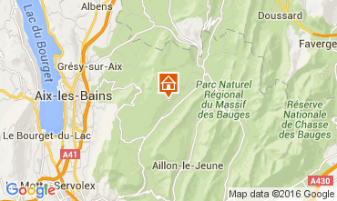 Karte Les Aillons Studio 91336