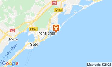 Karte Frontignan Appartement 100390
