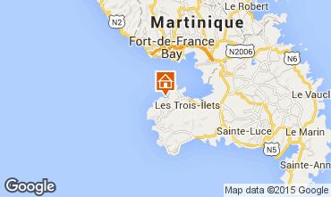 Karte Trois Ilets Appartement 75673