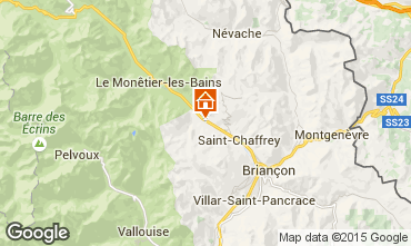 Karte Serre Chevalier Chalet 2917