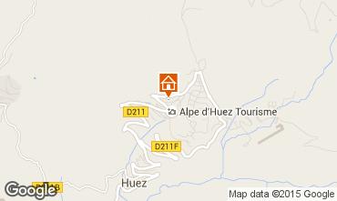 Karte Alpe d'Huez Studio 87621