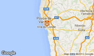 Karte Vila do Conde Appartement 87313