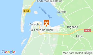 Karte Arcachon Haus 110612