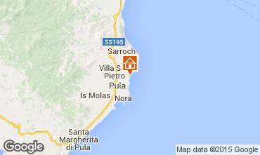 Karte Pula Villa 93933