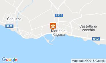 Karte Marina di Ragusa Appartement 93991