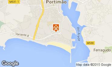 Karte Portimão Appartement 87245