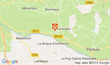 Karte Lourmarin Haus 113252
