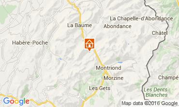 Karte Saint Jean d'Aulps- La Grande Terche Appartement 48428
