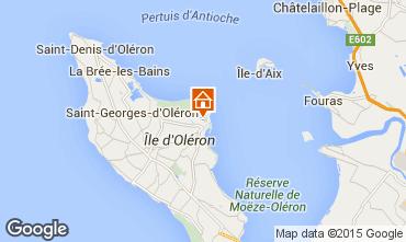 Karte Saint Georges d'Oléron Villa 6929