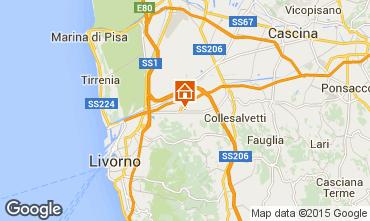 Karte Tirrenia Appartement 52200