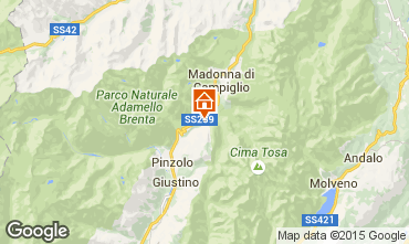 Karte Madonna di Campiglio Chalet 82991
