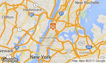 Karte New York City Appartement 100494
