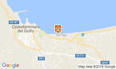 Karte Castellammare del Golfo Appartement 66567