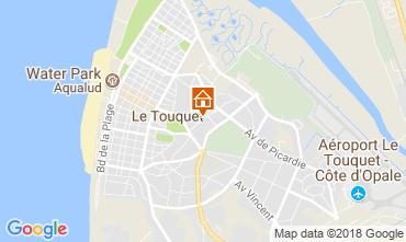 Karte Le Touquet Appartement 113907
