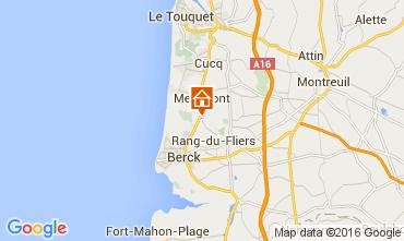 Karte Le Touquet Haus 105489