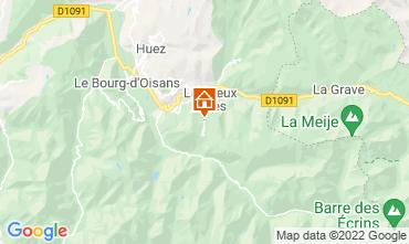Karte Les 2 Alpes Appartement 106612