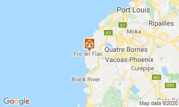 Karte Flic-en-Flac Bungalow 17097