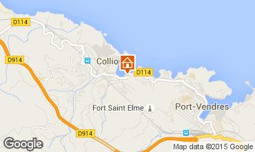 Karte Collioure Appartement 78947