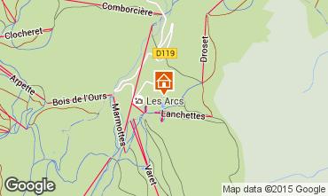 Karte Les Arcs Studio 233