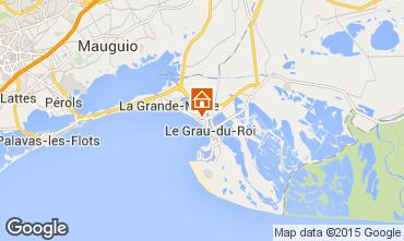 Karte Le Grau du Roi Appartement 68923
