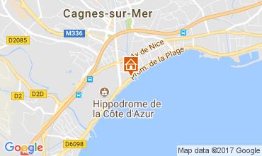 Karte Cagnes sur Mer Appartement 111275
