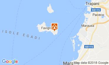 Karte Favignana Villa 115333