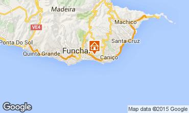 Karte Funchal Appartement 100929