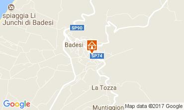 Karte Badesi Appartement 112512