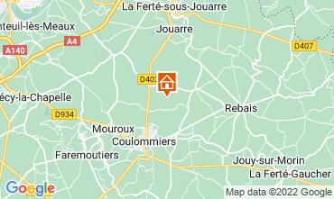 Karte Marne la Vallée Ferienunterkunft auf dem Land 107157