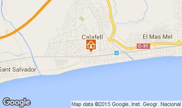 Karte Calafell Appartement 51755