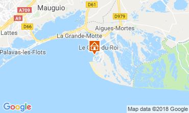 Karte Le Grau du Roi Appartement 81038
