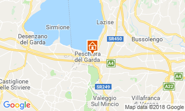 Karte Peschiera del Garda Appartement 116716