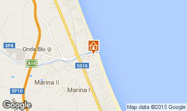 Karte Giulianova Appartement 35266
