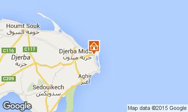 Karte Djerba Appartement 58841