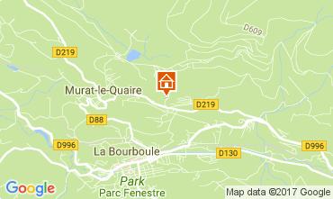 Karte La Bourboule Chalet 111687