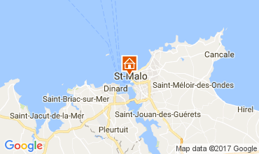Karte Saint Malo Appartement 111558