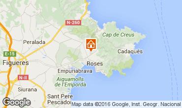 Karte Rosas Villa 85882