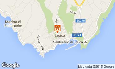 Karte Santa Maria di Leuca Appartement 84118