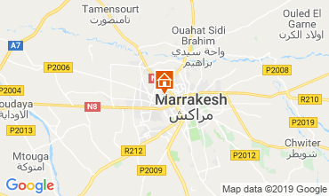 Karte Marrakesch Appartement 118460