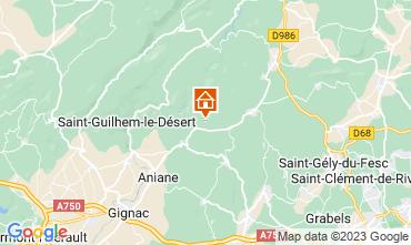 Karte Montpellier Außergewöhnliche Unterkunft 9218