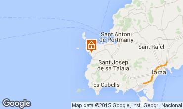 Karte Cala Tarida Appartement 93753