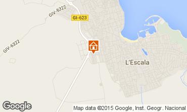 Karte L'Escala Haus 11449