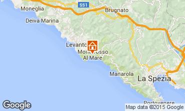 Karte Monterosso al Mare Appartement 50061