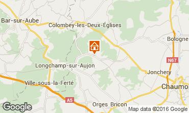 Karte Colombey-les-Deux-�glises Appartement 93336
